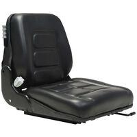 vidaXL kahveltõstuki ja traktori iste, vedrustuse ja reguleeritava seljatoega