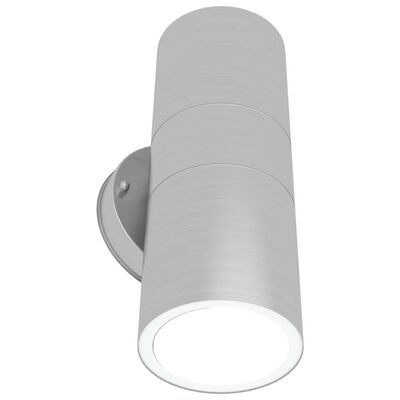 vidaXL õue LED-seinavalgustid 2 tk, üles/allapoole suunatud