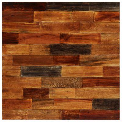 vidaXL baarilaud, taastatud puit, 70 x 70 x 106 cm