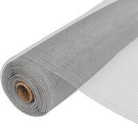 vidaXL võrkkate, alumiinium, 150 x 1000 cm, hõbedane
