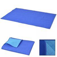 vidaXL piknikulina sinine ja helesinine 100 x 150 cm