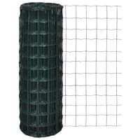 vidaXL traataed, teras, 25 x 1,0 m, roheline