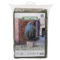 Nature talve fliiskate lukuga 70 g/m² roheline 1,5 x 2 m