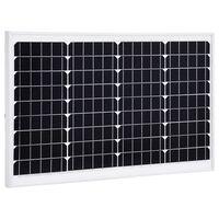 vidaXL päikesepaneel 40 W monokristalliline alumiinium ja turvaklaas