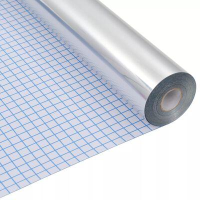 vidaXL peegeldav privaatsuskile, isekleepuv 0,9 x 10 m,