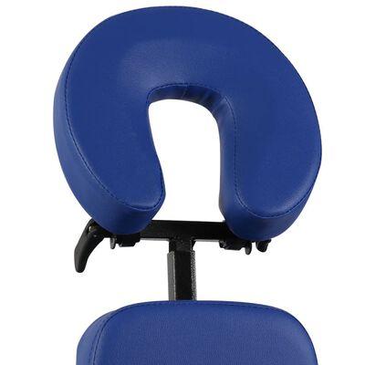 vidaXL kokkupandav ja kaasaskantav massaažitool, sinine