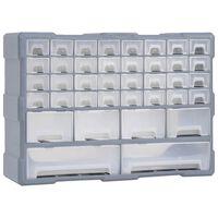 vidaXL mitme sahtliga organiseerija 40 sahtliga 52 x 16 x 37,5 cm