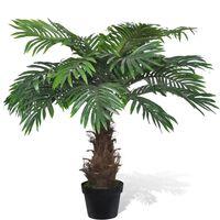 Elutruu kunst palmipuu potis 80 cm