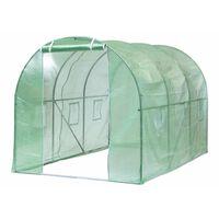 Nature kasvuhoone 3,5 x 2 x 2 m, roheline