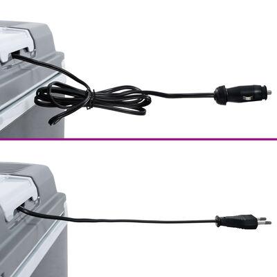 vidaXL kaasaskantav termoelektriline jahutuskast 24 l 12 V 230 V A+++