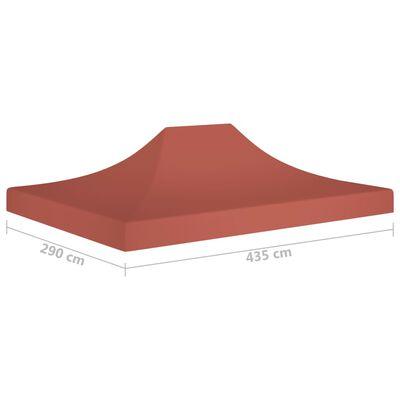vidaXL peotelgi katus 4,5 x 3 m, terrakota, 270 g/m²