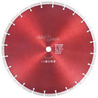 vidaXL teemantlõikeketas, teras, 350 mm