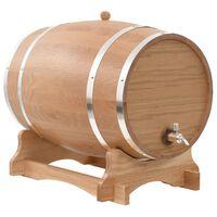 vidaXL veinivaat kraaniga, tammepuit, 35 l