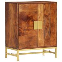 vidaXL puhvetkapp, 60 x 35 x 75 cm, toekas akaatsiapuit