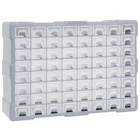 vidaXL mitme sahtliga organiseerija 64 sahtliga 52 x 16 x 37,5 cm
