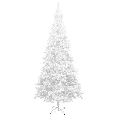 vidaXL kunstkuusk L 240 cm valge