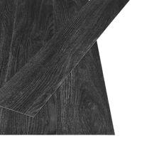 vidaXL iseliimuvad põrandalauad 4,46 m² 3 mm PVC, tumehall tamm