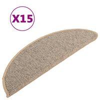 vidaXL trepivaibad 15 tk, pruun, 56 x 17 x 3 cm