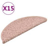 vidaXL trepivaibad 15 tk, roosa, 56 x 17 x 3 cm