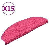 vidaXL trepivaibad 15 tk, roosa, 65 x 21 x 4 cm