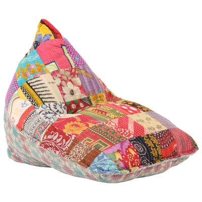 vidaXL kott-tool, värviline kangas, lapitehnika