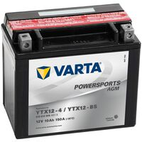 Varta mootorrattaaku Powersports AGM YTX12-4/YTX12-BS