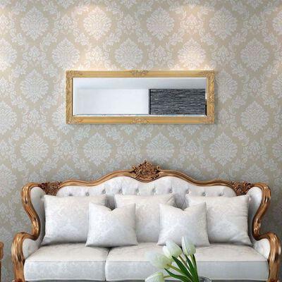 vidaXLi barokkstiilis seinapeegel 140 x 50 cm kuldne