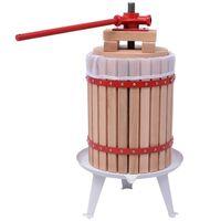 vidaXL puuvilja- ja veinipress, 18 l