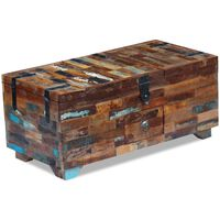 vidaXL kohvilaud-kirst taastatud puidust 80 x 40 x 35
