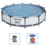 Bestway Steel Pro MAX ujumisbasseinikomplekt 366 x 76 cm