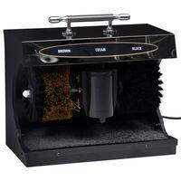 vidaXL elektriline kingaviksimise masin, täisautomaatne, must