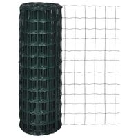 vidaXL traataed, teras, 10 x 1,5 m, roheline
