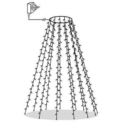 Kuusetuled, võrk, 150 LEDi, IP44, 150 cm