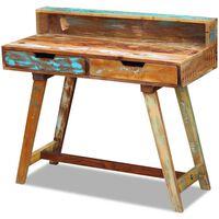 vidaXL kirjutuslaud taaskasutatud puidust