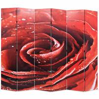 vidaXL kokkupandav sirm 228 x 170 cm, punane roos