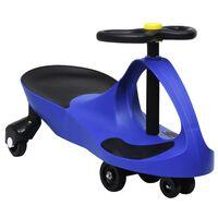 vidaXL pealeistutav vingerdav ja kiikuv auto, autopasunaga, sinine
