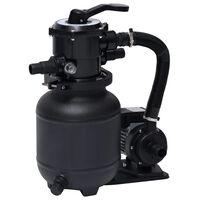 vidaXL basseini liiva filterpump 7 asendis ventiiliga 18 l