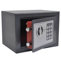 vidaXL elektrooniline digitaalne seif, 23 x 17 x 17 cm