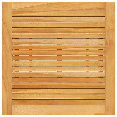 vidaXL aia baarilaud, 70 x 70 x 104 cm, akaatsiapuit