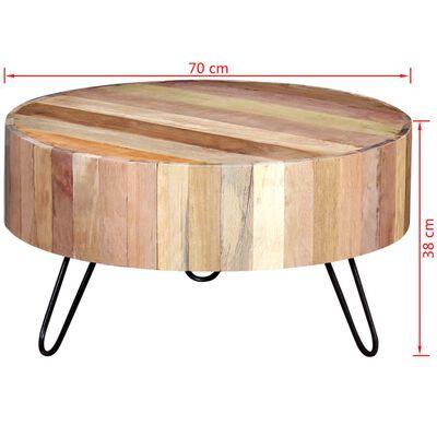 vidaXLi kohvilaud taastatud puidust