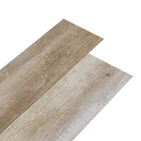 vidaXL PVC-st põrandalauad 5,02 m², 2 mm, iseliimuv, kulunud puit