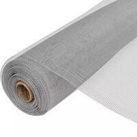 vidaXL võrkkate, alumiinium, 100 x 1000 cm, hõbedane