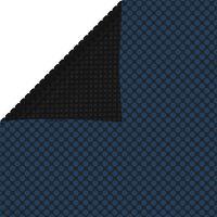 vidaXL ujuv PE ümmargune basseinikile, 450x220 cm, must ja sinine