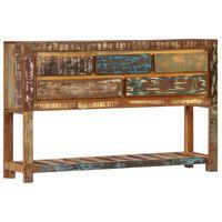 vidaXL puhvetkapp, 120 x 30 x 75 cm, toekas taaskasutatud puit