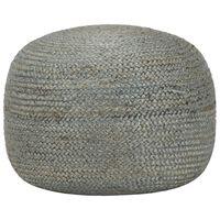 vidaXL käsitsi kootud tumba, oliiviroheline, 45 x 30 cm, džuut