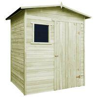 vidaXL aiamaja/kuur immutatud männipuit 1,5 x 2 m