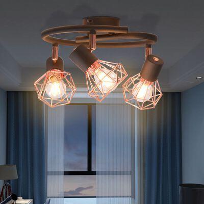 vidaXL laelamp 3 LED-hõõglambiga 12 W