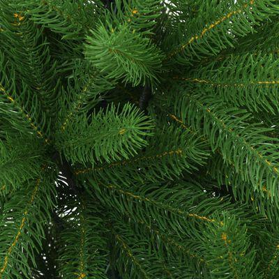 vidaXL kunstkuusk 240 cm, elutruud okkad, roheline