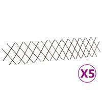 vidaXL pajust võreaiad 5 tk, 180 x 30 cm