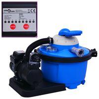 vidaXL liiva filterpump taimeriga 450 W 25 l